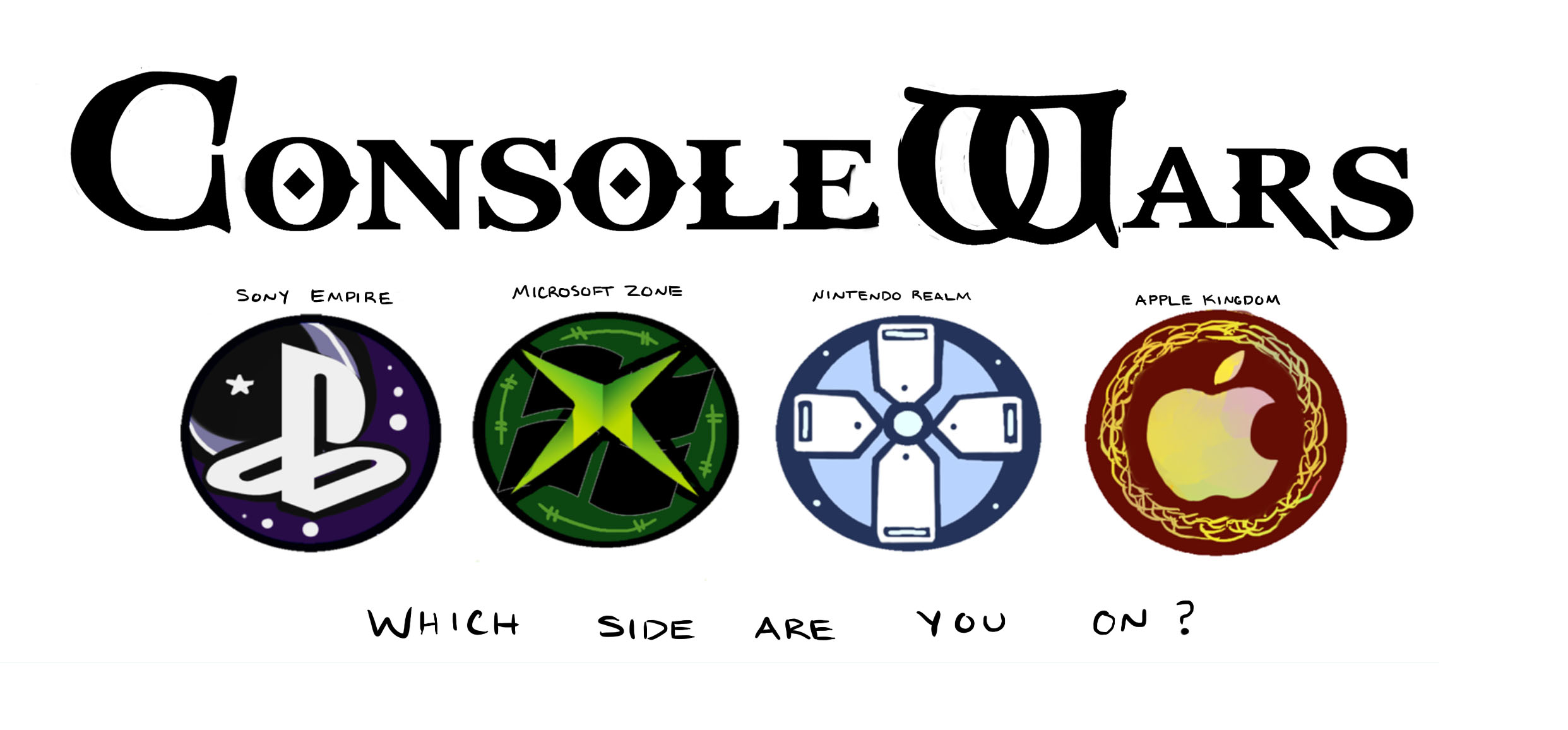 all hail the console wars why having multiple consoles defines game