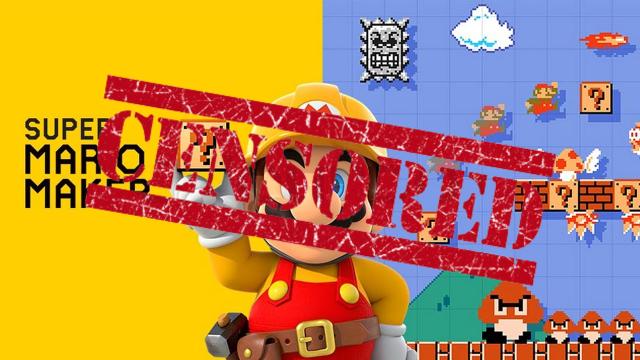 Censored Mario