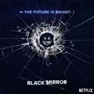 Season 3 poster for Netflix's hit series Black Mirror.