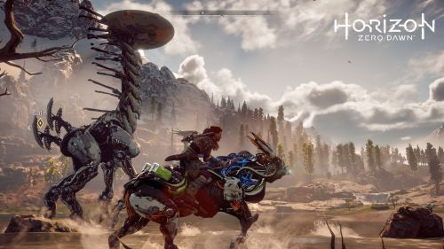 A screenshot of Horizon: Zero Dawn.