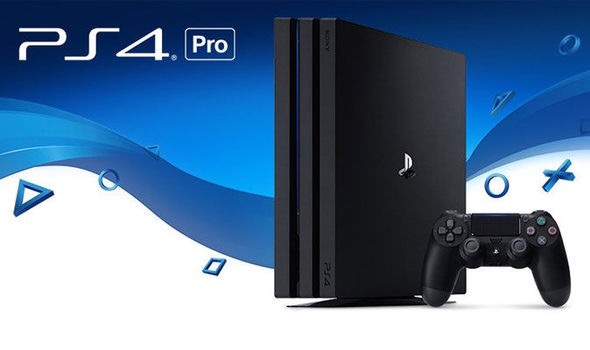 Sony's enhanced console, the PS4 Pro.