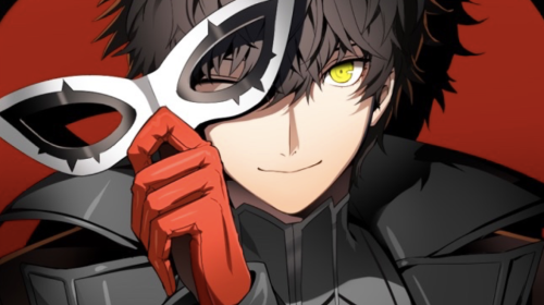 Persona 5's protagonist.