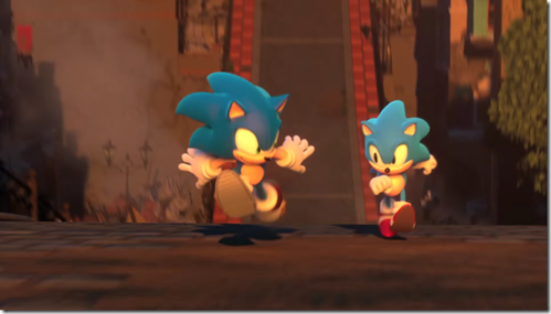 A image from the Project Sonic 2017 trailer.