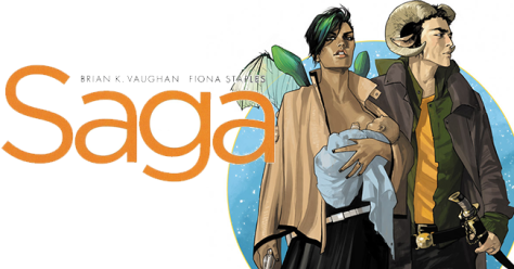 Cover art from Saga.