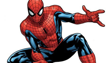 An image of the Amazing Spider-Man in his classic costume.