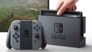An image of the Nintendo Switch console.
