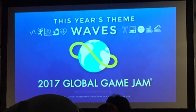 Photo from Global Game Jam 2017.