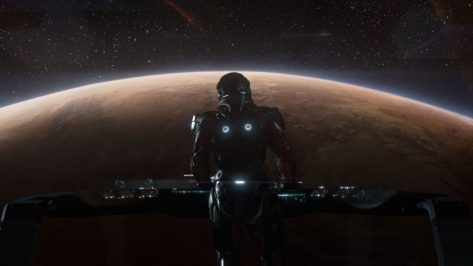 Mass Effect Andromeda's Ryder.
