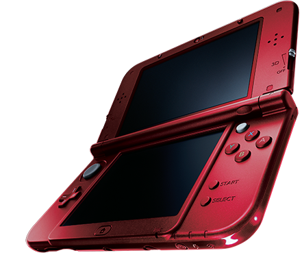 An image of the new 3DS.