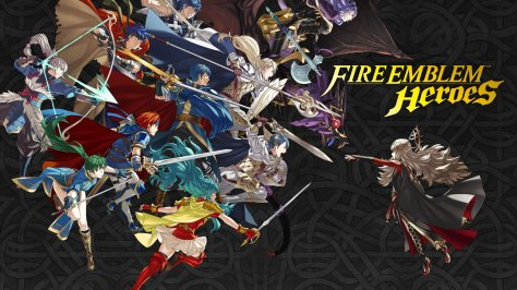 The header image for Fire Emblem Heroes.