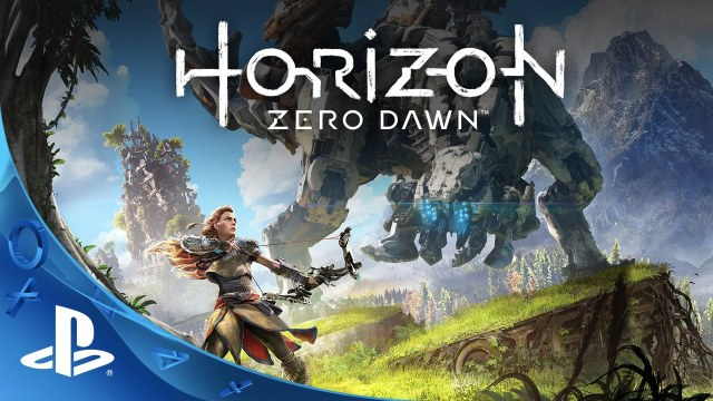 The cover art for Horizon: Zero Dawn.