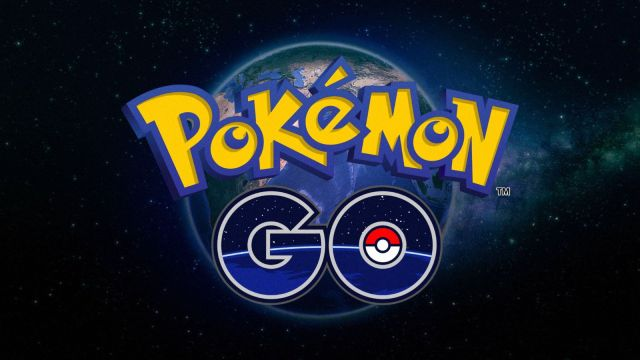 The Pokémon Go logo.