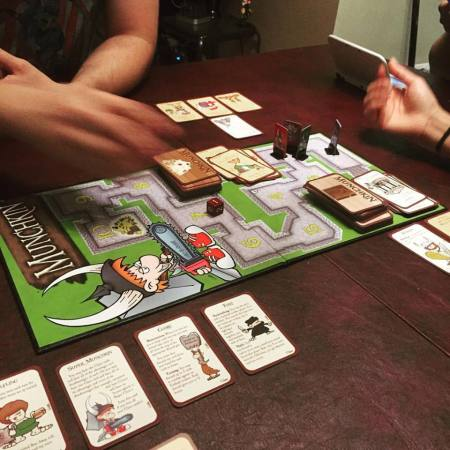 Munchkin, the card/board game.
