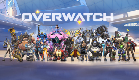 The cast of Blizzard's Overwatch.