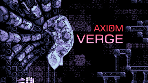 The cover for Axiom Verge.