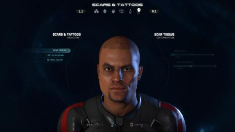 My character from Mass Effect: Andromeda