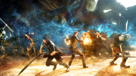 Picture of the characters from the RPG, Final Fantasy XV