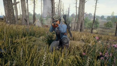 A screenshot from PUBG.