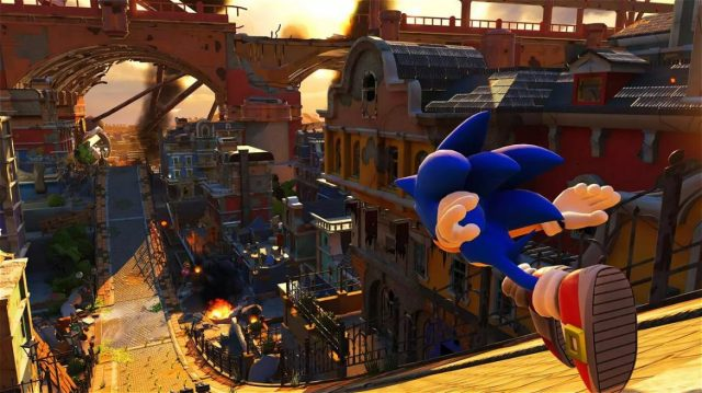 A screenshot of Sonic Forces.