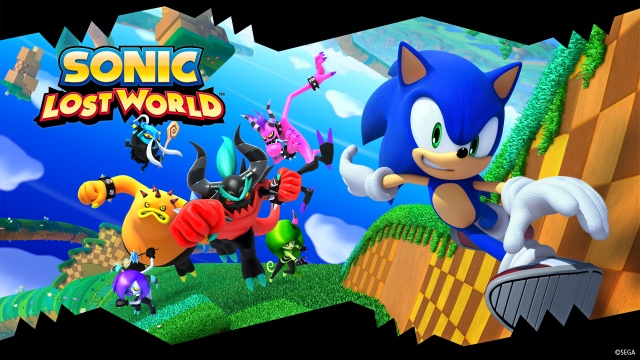 Promotional art for Sonic Lost World.