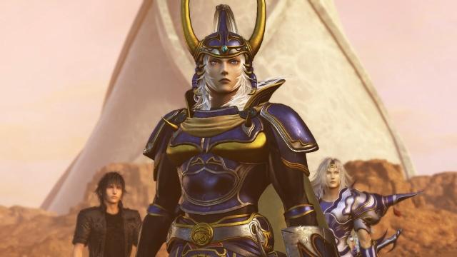 Screenshot from Dissidia Final Fantasy NT.