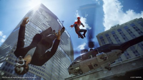 Screenshot of Marvel's Spider-Man.