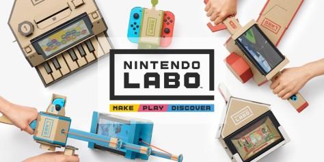 Nintendo Labo promotional image.