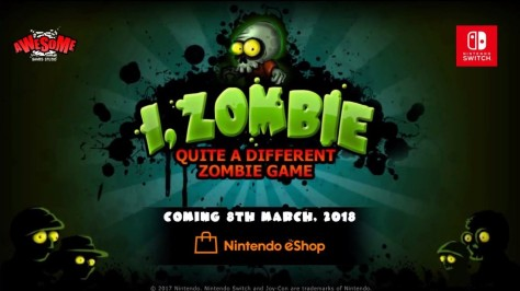 I, Zombie Logo Switch